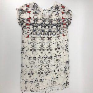 🎈IKKS Mini Sheath Dress, short capped sleeves